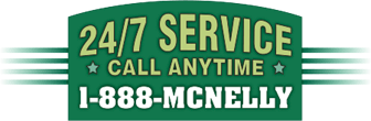 24/7 service, call anytime: 1-888-MCNELLY